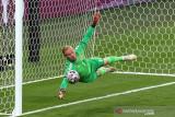 Euro 2020 - laga semifinal Inggris vs Denmark lanjut ke babak tambahan