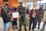 Kodim 1702 Jayawijaya salurkan bantuan Pangdam untuk pengungsi Yalimo
