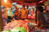 Di Kota Bogor harga sejumlah komoditas bahan pangan pokok naik
