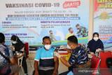 Lanud Silas Papare Jayapura lakukan vaksinasi 3.227 warga