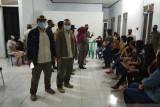 Tim gabungan Satpol-PP Pasbar amankan 23 pemandu karaoke dan satu pasang pengunjung