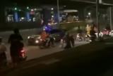 Geng motor serang polisi saat bubarkan balap liar