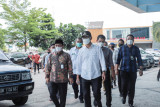 Wali Kota meninjau kesiapan RSUD Mataram atasi peningkatan COVID-19