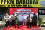 Panglima TNI dan Kapolri tinjau Solo
