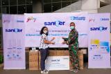Rumah Sakit Darurat COVID-19 Wisma Atlet terima puluhan ribu sabun & hand sanitizer