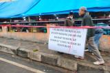 Sikapi imbauan Wali Kota, pedagang BTC Pasar Banto mulai tertib dan tidak jualan  di  trotoar lagi