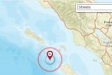Gempa magnitudo 5,6 Nias Utara terasa  di Gunungsitoli