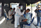 Warga yang datang dari Lombok akan dites swab antigen di Poto Tano