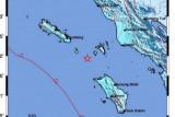 Gempa magnitudo 5,6 mengguncang Nias Utara