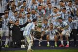 Akhir manis perjuangan gigih Lionel Messi memburu trofi bersama timnas