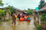 Sebanyak 58 kepala keluarga di Aceh Besar mengungsi akibat banjir