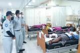 7 meninggal dan 21 luka-luka akibat bus terguling di Pemalang, Jasa Raharja langsung serahkan santunan