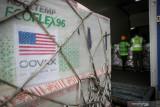3,5 juta dosis vaksin Moderna dari AS tiba di Jakarta