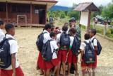 TNI gelar kegiatan teritorial inovatif bagi pelajar di Pegunungan Bintang