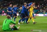 Italia juara Euro 2020 usai drama adu penalti lawan Inggris 3-2