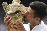 Wimbledon 2021 - Novak Djokovic juara, catatkan gelar Grand Slam ke-20