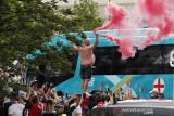 Polisi tangkap 49 orang usai kericuhan pada final Euro 2020