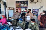 Polres Pariaman wajibkan warga yang urus SKCK dan SIM untuk divaksin