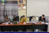 Wakil Bupati Pesisir Barat pimpin rakor PPKM dan optimalisasi posko penanganan COVID-19