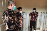 Bupati Mesuji cek kesiapan tabung oksigen di RSUDRBC