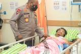 Kapolda Papua jenguk Briptu Kenny korban penembakan KKB di RS Bhayangkara