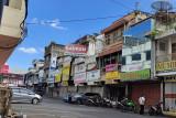 Toko non esensial di Bandarlampung tutup di hari pertama PPKM darurat