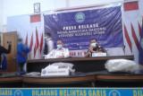 BNNP Sulut bersama Bea Cukai ungkap jaringan narkotika ganja lintas daerah