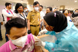 Stok vaksin melimpah, Gibran kembali tingkatkan target vaksinasi di Solo
