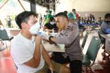 15.190 juta jiwa penduduk Indonesia terima vaksin COVID-19 dosis lengkap