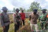 Polisi amankan seorang pria diduga pembakar lahan di Sampit
