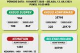 Dinkes: Lampung Timur dan Pringsewu sumbang kasus COVID-19 terbanyak