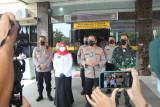 Kapolda Lampung pantau pelaksanaan PPKM Darurat di Bandarlampung