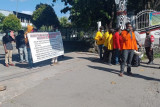 Lempari aparat, 21 mahasiswa diamankan ke Polresta Jayapura Kota