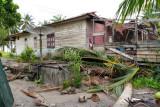 Angin kencang  landa Natuna rumah warga rusak