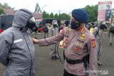 100 personel Brimob Jambi siaga bantu penanganan COVID-19