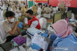 Vaksinasi Pelajar Di Pekanbaru