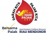 Peringati Hari Pajak, Kanwil DJP Riau gelar donor darah