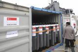 Indonesia menerima dukungan vaksin, tabung oksigen dari UAE, Singapura