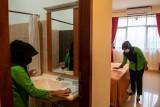 Sumsel aktifkan menara Asrama Haji Palembang rawat pasien COVID-19