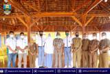 Bupati  lepas tiga siswa terbaik ikut seleksi paskibra tingkat provinsi dan nasional