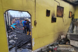Kompleks Perumahan Dinas  Kodam II/Sriwijaya terbakar