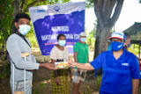 Plan Indonesia berikan bantuan nontunai ke 610 KK penyintas bencana