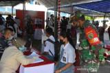Kodam XVII/Cenderawasih ikut sukseskan vaksinasi massal pelajar SMP/SMA