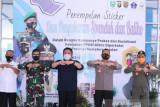 Forkopimda Sumsel kampanye prokes di Terminal Bus Kota Palembang