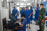 Lantamal VIII Manado gelar vaksinasi bagi anak 12-17 tahun