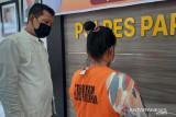 Seorang ibu di Padang Pariaman melanjutkan usaha terlarang suaminya