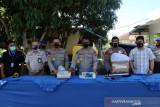 Polda Bengkulu tangkap pelaku penyelundupan 4.335 ekor benur