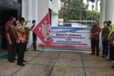 Kejati Papua gelar bakti sosial bagi paket sembako