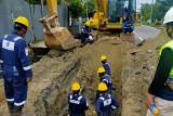 TPG Tangani Kebocoran Pipa Jargas Rumah Tangga di Tarakan
