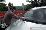 Penyekatan, petugas putar balik ratusan kendaraan menuju Banyumas